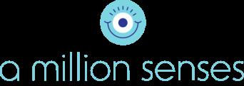 Λογότυπο της Κοινωνικής Επιχείρησης A Million Senses.