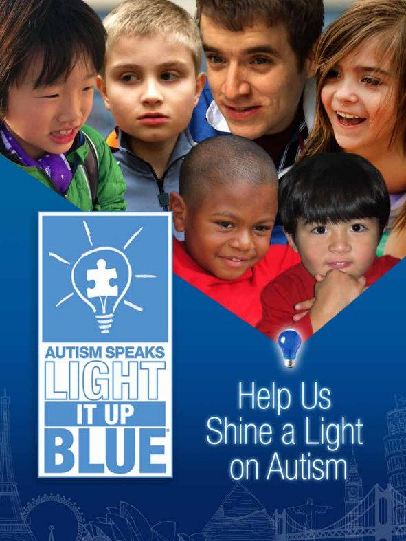 Δείτε πώς μπορείτε να στηρίξετε την καμπάνια Light It Up Blue του Autism Speaks!