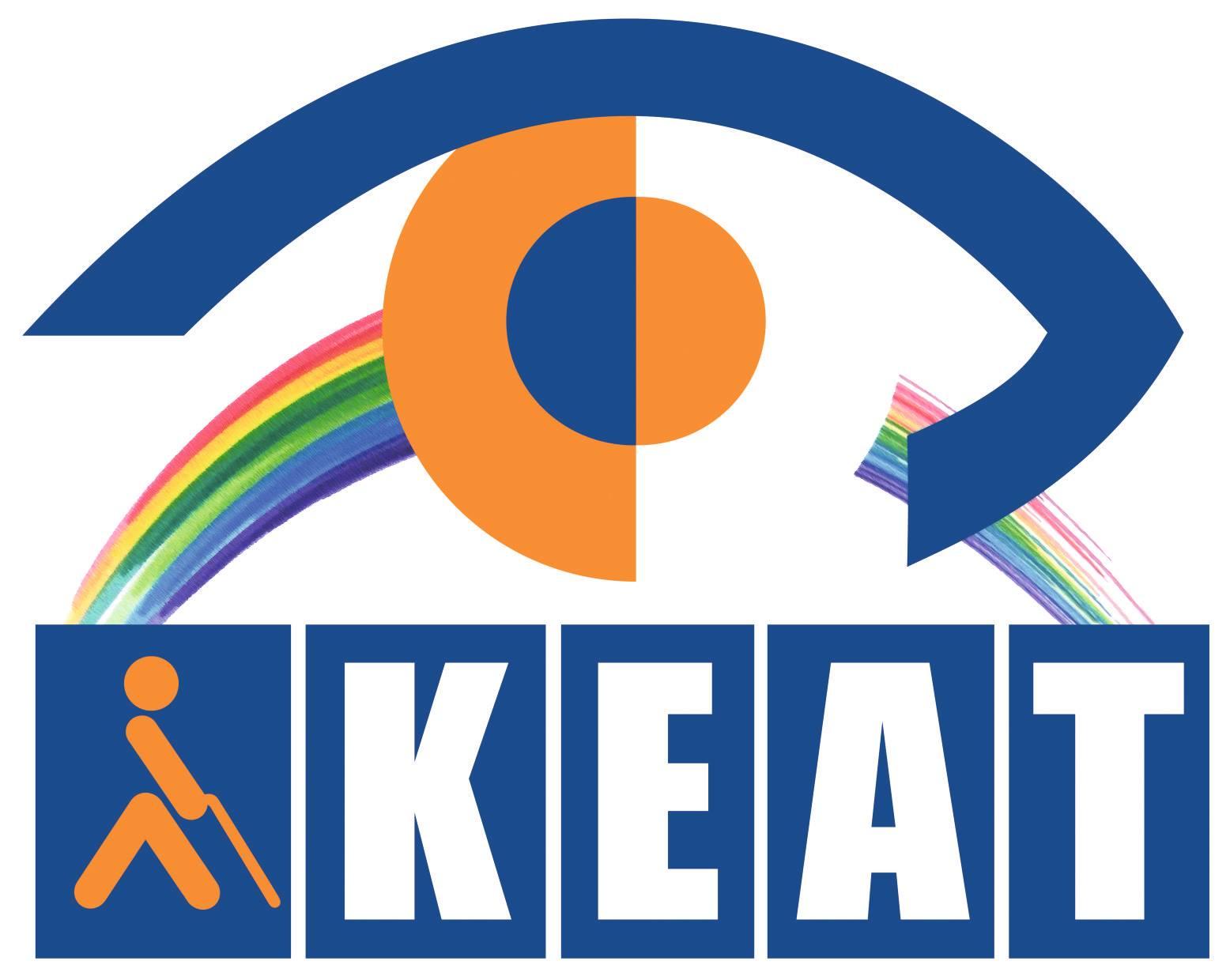Λογότυπο για το Κέντρο Εκπαίδευσης και Αποκατάστασης Τυφλών (Κ.Ε.Α.Τ.).